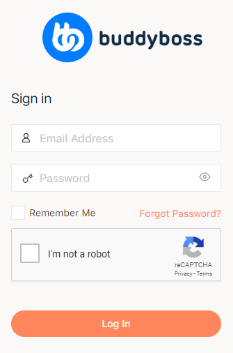 Login form with Google Captcha (reCAPTCHA)