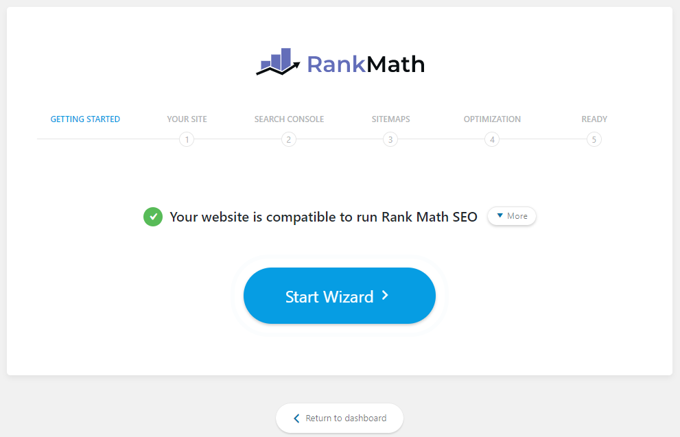 Rank Math SEO - Setting up the plugin