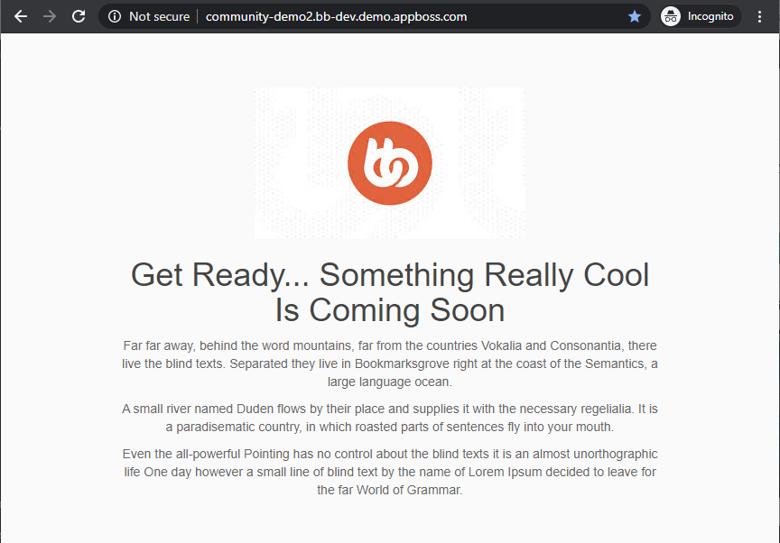 Coming Soon Page, Under Construction & Maintenance Mode - Coming Soon page preview
