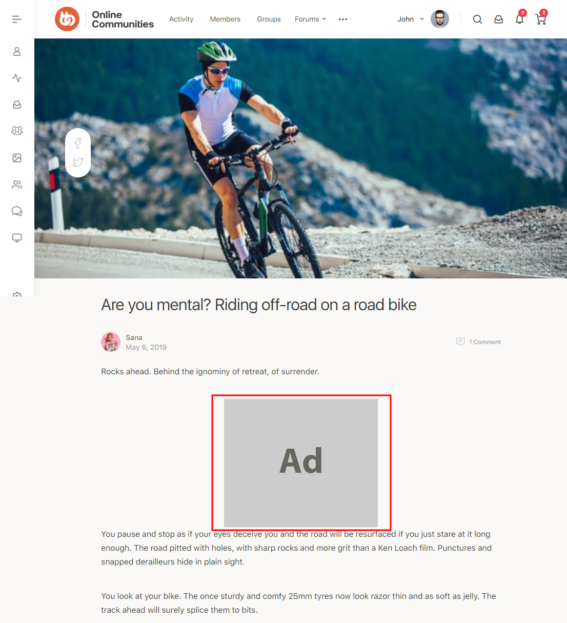 Advanced Ads – Ad preview