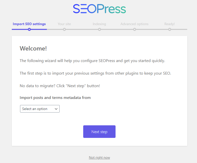 SEOPress – Setting up the plugin
