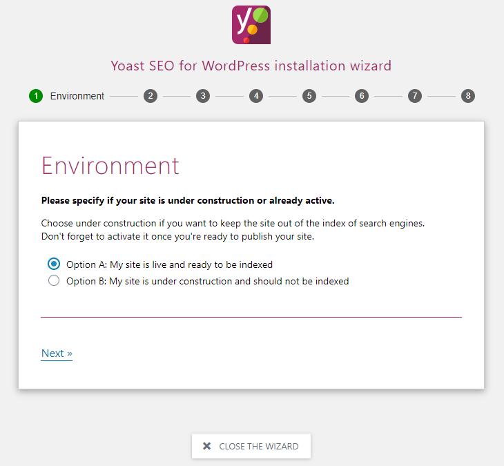 Yoast SEO – Setting up the plugin