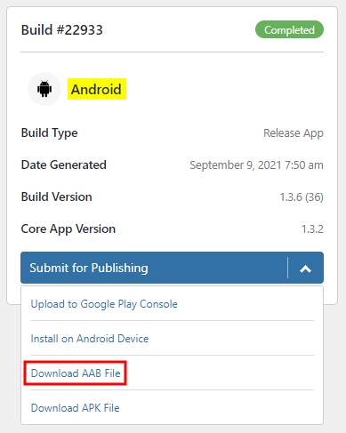 Download AAB file