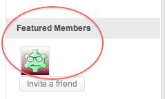 Featured Members Widget