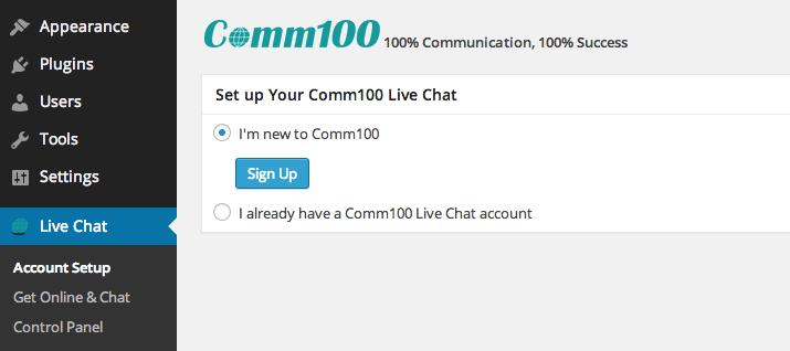 comm100-setup