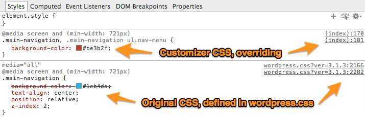 tutorial-customizer-override