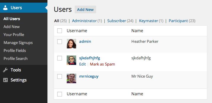 user-spam