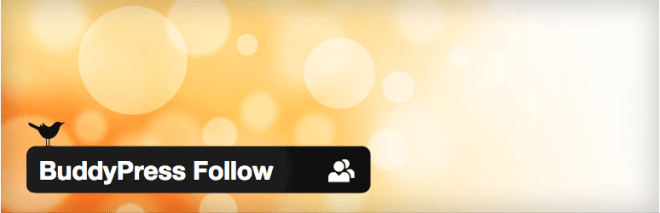 BuddyPress Follow