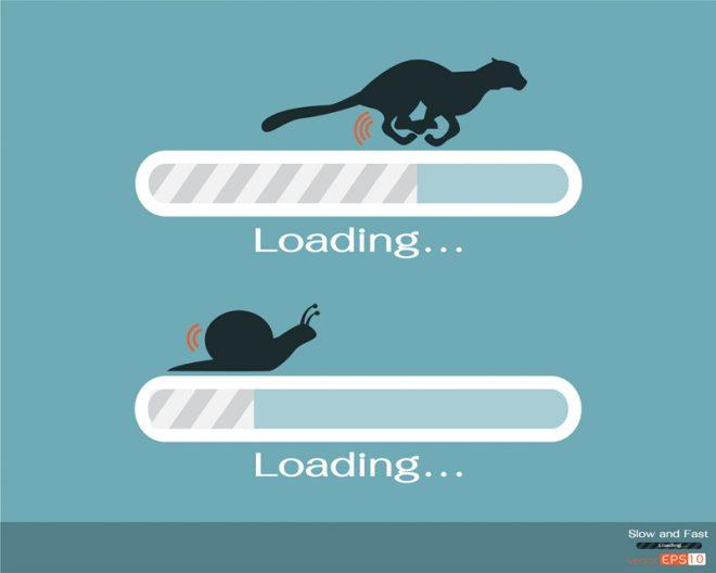 slow loading