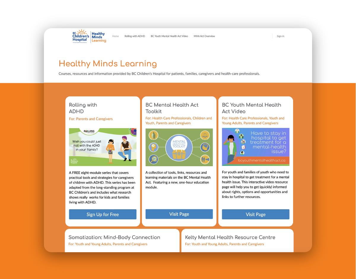 Healthy Minds Learning Buddyboss